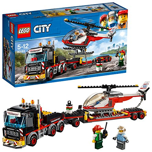LEGO City Great Vehicles Camión de transporte de mercancías pesadas,