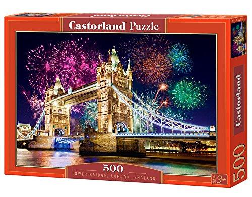 Castorland B-52028-2 - Tower Bridge, England, 500-teilig, Klassische Puzzle