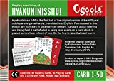 Hyakunin Isshu Karuta - English Translation cards no. 1-50