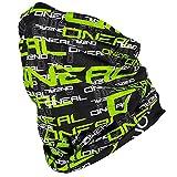 O'Neal Hals Tuch Motorrad Nacken Wärmer Schutz Fahrrad Schal Gesichtsschutz Maske Ski, 1024, Farbe Schwarz Grün