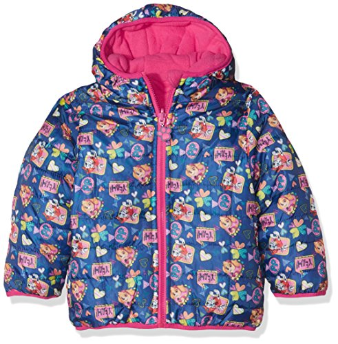 Nickelodeon Girl's Paw Patrol Be Happy Be Free Coat