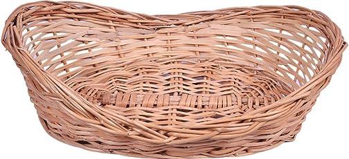 KEE Wicker Basket (10 cm x 11 cm x 12 cm, Brown)