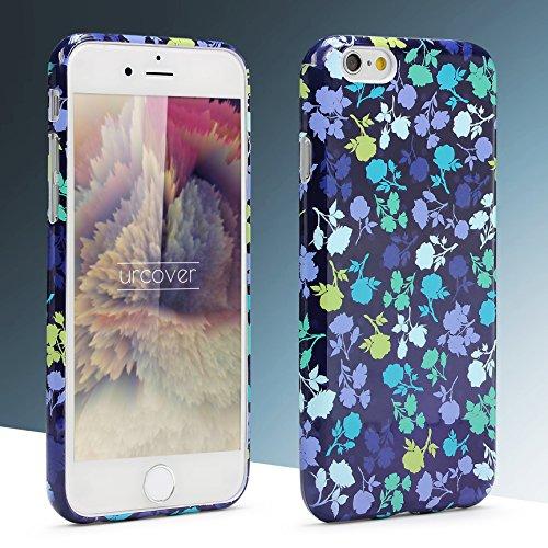Urcover® Apple iPhone 6 / 6s Hülle mit Blumenmuster Design 4 Handy Schutz-Hülle Floral TPU Cover Schale Flexibel Silikon-hülle Back-Case Handy Smartphone Zubehör Design 6