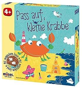 Moses 90221 - Würfelspiel - Pass auf, kleine Krabbe