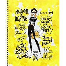Jordi Labanda 2408 - Cuaderno A5 cuadrícula amarillo way of life