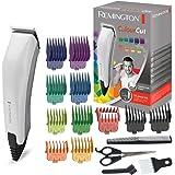 Remington Coffret Cheveux Homme, Tondeuse Cheveux ColorCut 11 Sabots, Lames Auto-Affûtées Acier Inoxydable - Accessoires Inclus HC5035