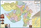 Gujarat Map with 7 new districts