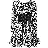 BEZLIT Mädchen Kinder Spitze Kleid Peticoat Fest Kleider Langarm 21639 Weiß Größe 152
