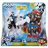 Recreate Max's most epic battles from the hit show;Max Steel takes on the mercurial Metal Elementor in a fierce competition of wits, strength and morality;Max has a Turbo claw to disarm Elementor, who fights back with full force, trying to se...