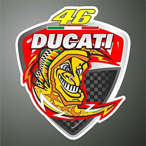 De la etiqueta engomada - pegatina con diseño de Valentino Rossi Ducati...