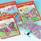 Baker Ross Planeadores de mariposa 6 diseños diferentes para bolsas...