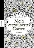 Mein verzauberter Garten: Postkartenbuch mit 20 herausnehmbaren Postkarten