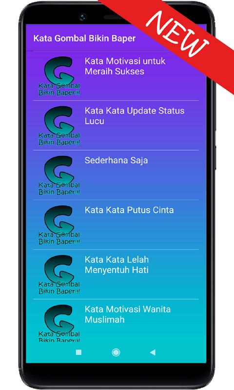 Kata Gombal Bikin Baper Amazonfr Appstore Pour Android