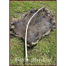 Mittelalter Wikinger Bogen LARP 70 Zoll Hellbraun inklusive Sehne 15-105 lbs Battle-Merchant Wikinger Langbogen