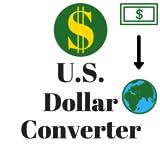 Conversor de divisas del dólar
