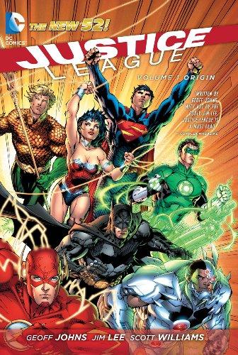 Justice League Volume 1: Origin TP (The New 52) (Jla (Justice League of America))