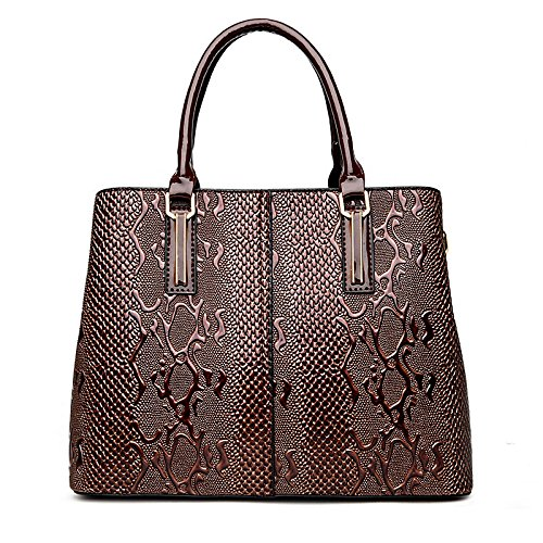 Meoaeo Europei E Americani Borsa Moda Borsa A Tracolla Messenger Bag Nero brown