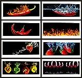 TMdesign Küchenrückwand 500 Motive Spritzschutz Acrylglas (100x50cm)