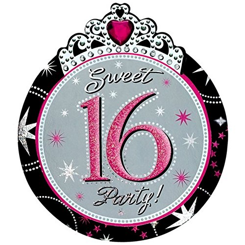 Amscan International Sweet 16Party Einladungen, 8Stück (Sweet 16 Party-einladungen)