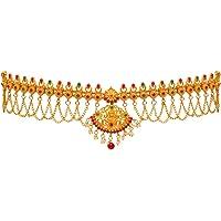 Jaipur Mart Golden Alloy Kamarband for Women for Lehenga Saree