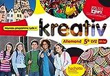 Kreativ allemand cycle 4 / 5e LV2 - Livre élève - Nouveau programme 2016