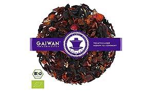 """N° 1124: Tè alla frutta biologique in foglie """"Berry Mix (Mix di Frutti di Bosco)"""" - 100 g - GAIWAN® GERMANY - tè in foglie, tè bio, ibisco, rosa canina, sambuco, aromi naturali, barbabietola rossa"""