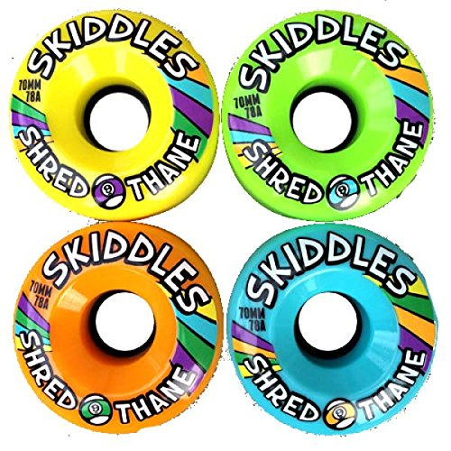 sector-9-skiddles-70mm-roues-longboard-78a-multi-couleurs