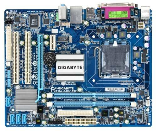 Gigabyte GA-G41M-ES2L Mainboard Sockel Intel 775 G41+ICH7 DDR2 Speicher Micro ATX - Ddr2-800 Atx-motherboard