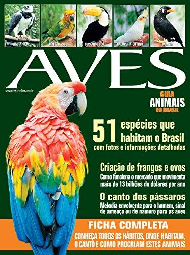 Guia Animais do Brasil - Aves (Portuguese Edition)