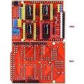 Hrph New CNC Shield V3 Engraving Machine / 3D Printer / + 4 Pcs A4988 Driver Expansion Board for Arduino