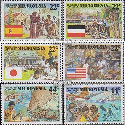 Prophila Collection Mikronesien 83-88 (kompl.Ausg.) 1988 Kolonialgeschichte (Briefmarken für Sammler)