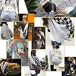 poppypet Pet Sling Carrier, Hands-free Sling Pet Dog Cat Carrier Rabbit Bag Comfortable Shoulder Bag, Double-sided Pouch… 16