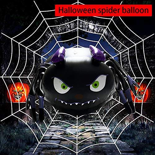 Sukerdirect palloncino spider halloween,grande decorazione di palloncini di halloween,palloncino ragno spaventoso in pvc,appeso al soffitto per la festa di halloween
