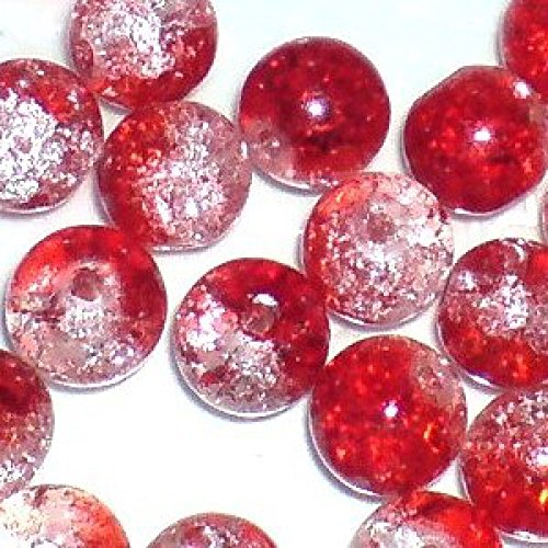 100-pieces-6mm-crackle-glass-beads-red-clear-a1607-by-k2-accessories-crackle-glass-beads