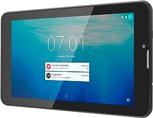 Krüger&Matz KM0701.1 17,78 cm (7 Zoll) Eagle 701 (3G) Tablet-PC (Android 7.0 Nougat, Intel Core i3 MT8321, 1GB RAM, Interner Speicher 16 GB ) Schwarz