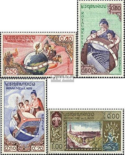 Prophila Collection Laos 85-88 (kompl.Ausg.) 1958 UNESCO-Gebäude in Paris (Briefmarken für Sammler) -