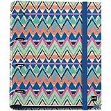 Miquelrius 20137 - Carpeta 4 anillas con bloc de 25mm, A4, multicolor