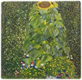 3drose LLC 20,3x 20,3x 0,6cm Foto von Klimts Gemälde Sonnenblume Mauspad (MP _ 119237_ 1)
