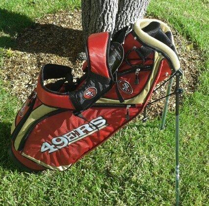 San Francisco 49ers Nassau Stand Bag by Team Golf