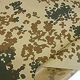 Bundeswehr Camouflage-Stoff - wasserdicht reiß- u