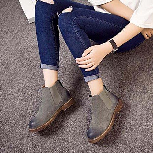 Solshine , chaussures compensées femme Grau 2
