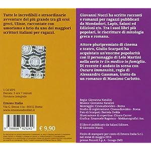 Ulisse. Il mare color del vino letto da Giulio Scarpati. Audiolibro. CD Audio formato
