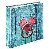 Hama 2167 Album Memo, 100 Pagine, 200 Foto 10 x 15, Azzurro