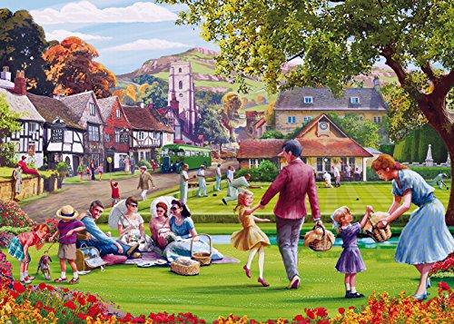 Gibsons Picknick, am grün Puzzle, 1000Stück - Gibson Edward