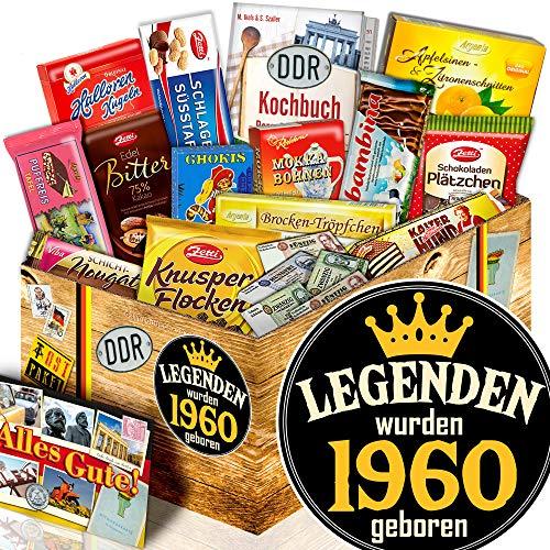 Legenden 1960 - 1960 Geschenk Mann - Schokolade Ostpaket XL
