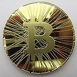 GoDUB FIRST BITCOIN Münze 2013 - Medaille - Sammlermünze 1 oz/unze 999 Kupfer vergoldet (Gold)