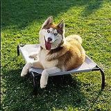 Coolaroo Elevated Pet Bed Medium Grey