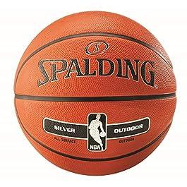 Spalding Ballon NBA Silver Outdoor