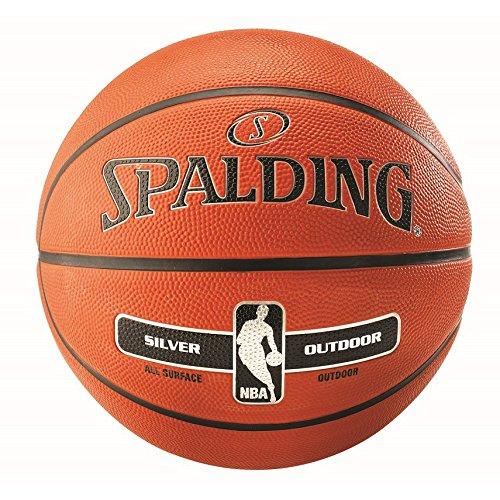 Ballon Spalding NBA Silver Outdoor
