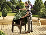 Heavy duty stacking patio chair cover (UV Treated)